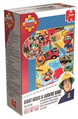 Fireman Sam Jumbo Games Giant Hoses And Ladders Game