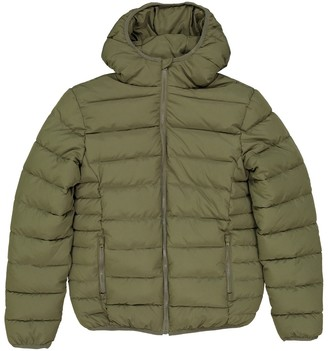 3 Months-3 Years La Redoute Collections Big Boys Hooded Parka with Faux Fur Lining