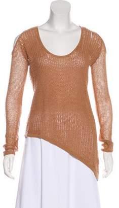 Helmut Lang Wool Crochet Sweater w/ Tags