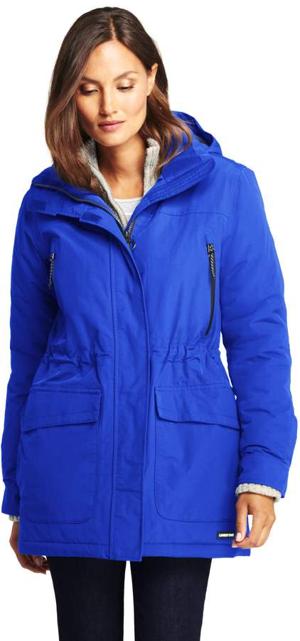 Lands'end Women's Petite Squall Insulated Winter Parka
