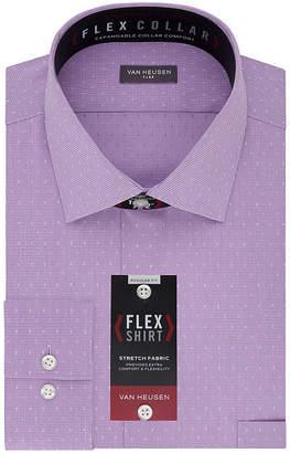 Van Heusen Flex Collar Dress Long Sleeve Shirt - Big & Tall