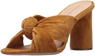 Loeffler Randall Women's Coco High Heel Knot Slide (Velvet) Heeled Sandal
