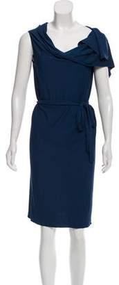 Maison Margiela Sleeveless Wrap Dress