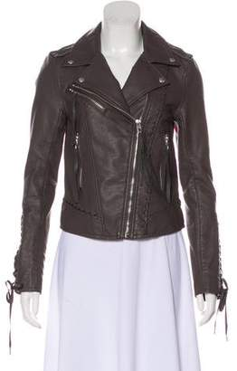 Blank NYC Faux Leather Biker Jacket