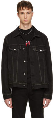 Palm Angels Black Playboi Carti Edition Denim Die Punk Jacket