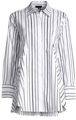 Donna Karan Stripe Shirtdress