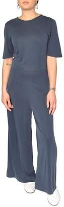 Just Female Navy Blue Jumpsuit