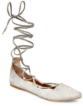 Steve Madden Eleanorr Suede Flats $89 thestylecure.com