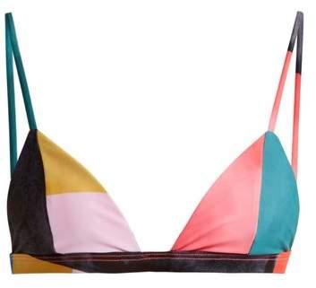 Astrid triangle bikini top