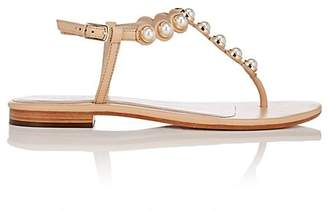 Barneys New York WOMEN'S EMBELLISHED THONG SANDALS