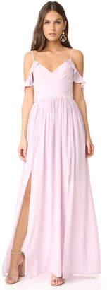 Amanda Uprichard Wren Maxi Dress $300 thestylecure.com