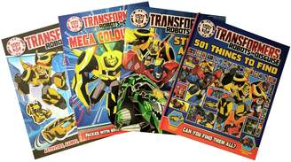 Transformers Robots in Disguise Book Bundle.