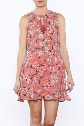 BB Dakota Canteloupe Sleeveless Dress