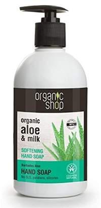 Alöe Organic Shop Softening Hand Soap Organic & Milk 500ml