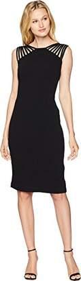 Sangria Women's Strappy Midi Dress