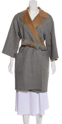 Max Mara Reversible Camel & Wool Coat