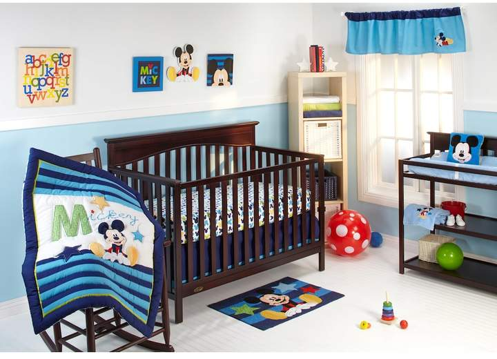 Disney Disney Baby Mickey Mouse My Friend Mickey 4-pc. Crib Bedding Set