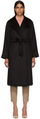 Max Mara Black Manuela Coat