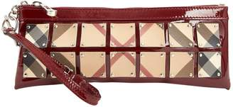 Burberry Burgundy Patent leather Purses, wallets & cases