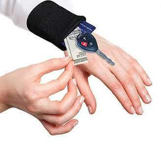 Homax Tuck Away Fitness Wrist and Ankle Wallet Transform