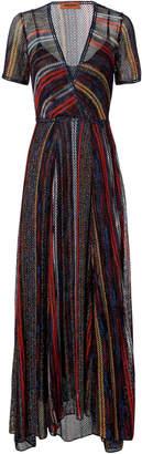 Missoni Striped Lurex Dress