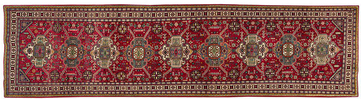 One Kings Lane Vintage Persian Tabriz Runner - 3'5