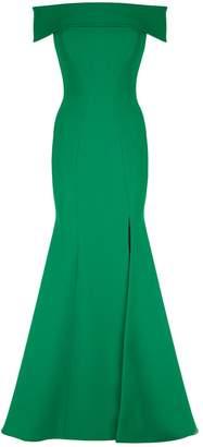 Rachel Gilbert Hadley Off-The-Shoulder Gown