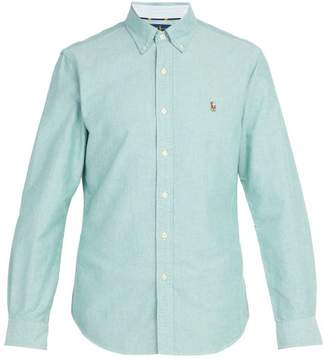 Polo Ralph Lauren Slim Fit Cotton Oxford Shirt - Mens - Green