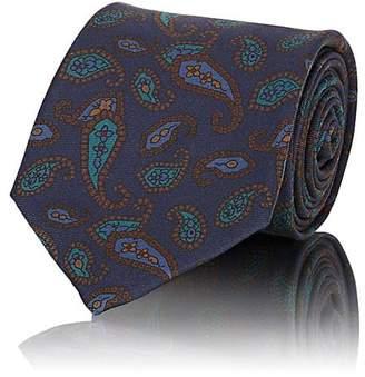 Fairfax Men's Paisley Silk Faille Necktie