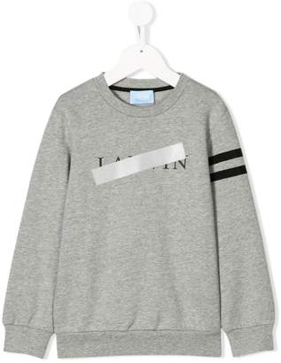Lanvin Enfant censored logo sweatshirt