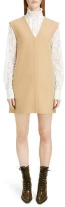 Chloé Stretch Wool Shift Dress