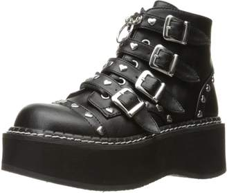 Demonia Women's Emi315/bvl Ankle Bootie