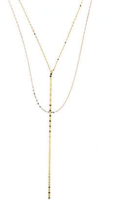 Lana Nude Blake Chain Drop Necklace