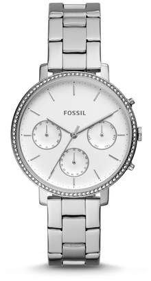 Fossil Sylvia Multifunction Stainless Steel Watch