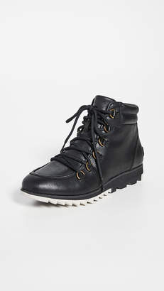 Sorel Harlow Lace Up Booties