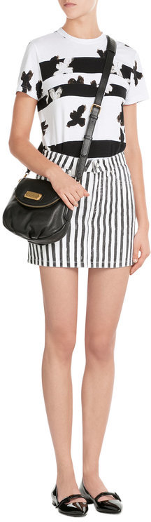 Marc By Marc JacobsMarc by Marc Jacobs Striped Denim Skirt