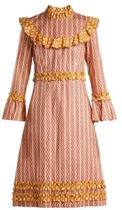 DAY Birger et Mikkelsen BATSHEVA Ruffled cotton dress