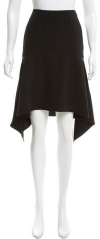 Alexander WangT by Alexander Wang Asymmetrical Midi Skirt w/ Tags