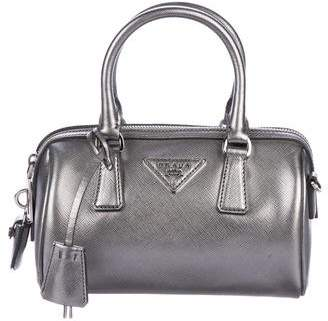 Pre-Owned at TheRealReal · Prada Mini Saffiano Bauletto Bag 5b2668b6f0d0f