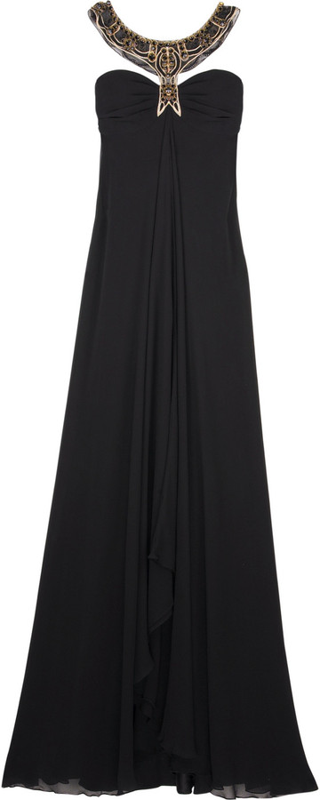 Temperley London Long Isaline gown