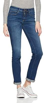Benetton Women's Regular Fit Denim Trouser Jeans