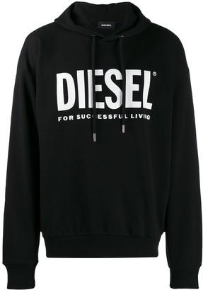 Diesel logo hoodie