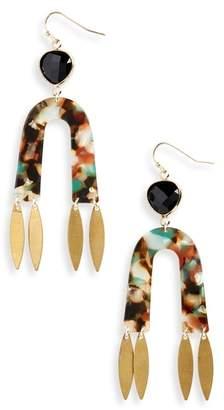 Nakamol Design Arch Resin Earrings