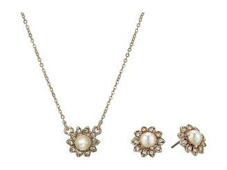 Marchesa Pearl Necklace/Earrings Set