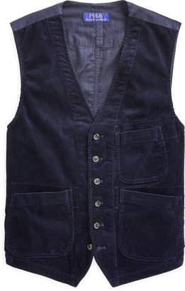 Ralph Lauren Stretch Corduroy Vest