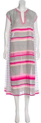 Lemlem Striped Midi Dress
