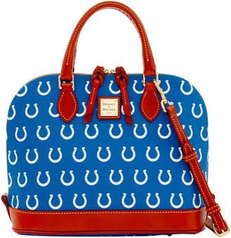 Dooney & Bourke NFL Colts Zip Zip Satchel