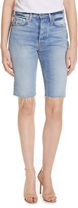GRLFRND Beverly Bermuda Denim Shorts