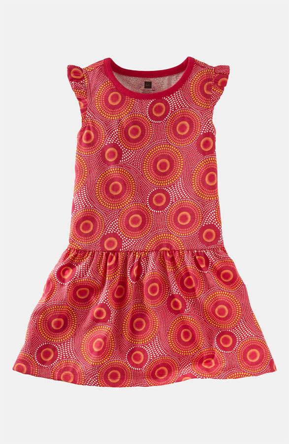 Tea Collection 'Elm' Flutter Dress (Toddler)