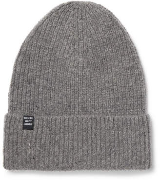 Herschel Cardiff Ribbed Cashmere And Wool-Blend Beanie